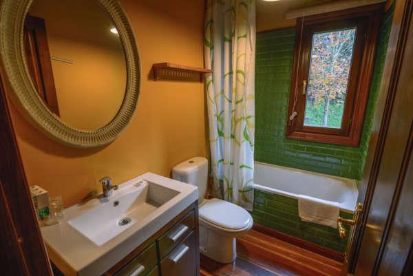 Baño con ducha Casina de Punticiella