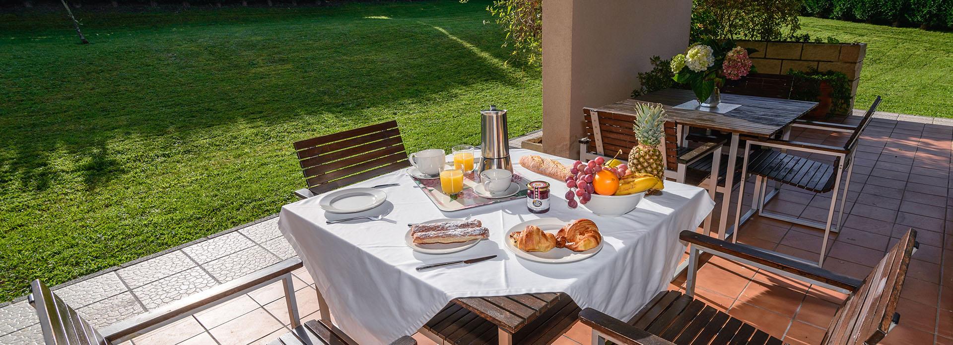 Desayuno Villas de Llanorrozo